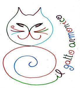gatto armonico quadrato